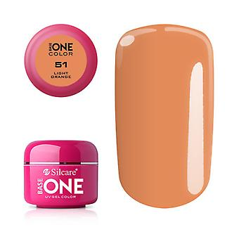 Base one-Color-Light Orange 5g UV gel