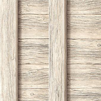 Muriva Decorpassion hek hout effect wallpaper J18607