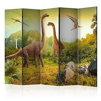 Parawan 5-częściowy - Dinozaury II [Room Dividers]