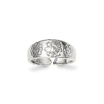 925 Sterling Silver Solid Toe Ring Jewelry Gifts for Women - 1.2 Grams