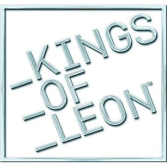 Kings of Leon block logo typ ny officiell metal PIN Badge