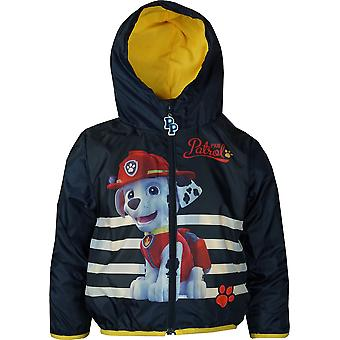Boys Paw Patrol RH1143 Lightweight Hooded Jacket with Bag Size: 3 -6 years