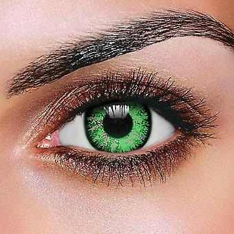 Glamour Green Contact lenses (Pair)