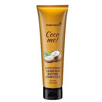 Tannymaxx Coconut Butter Line Coco Me Coconut Tanning Butter With Bronzer - 150ml