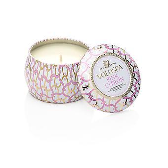 Voluspa Maison Decorative Tin Candle Pink Lemon 113g