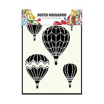 Dutch Doobadoo A5 Mask Art Stencil - Hot Air Balloons 470.715.106