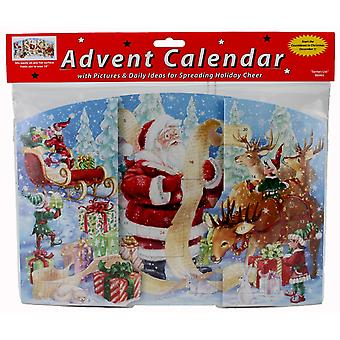 Santa's List Advent Calendar