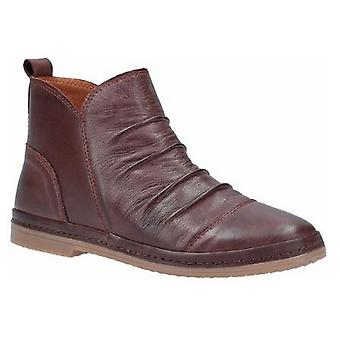 Riva Womens/Ladies Kefalonia Leather Zip Ankle Boot