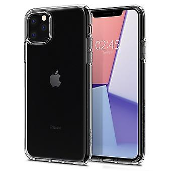 Case Voor iPhone 11 Pro Liquid Crystal Transparant