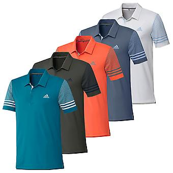 adidas Golf Herren Ultimate Gradient Sleeve Polo Shirt