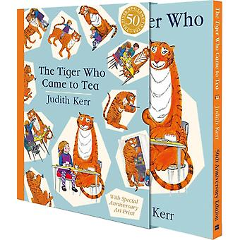 Tiger Who Came to Tea Gift Edition by Judith Kerr