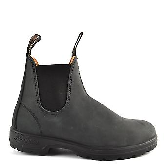 Blundstone Unisex 587 Rustic Black Leather Boot