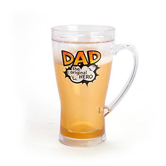 Chope à bière glacée
