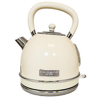 Charles Bentley Cream 3kW 1.7 Bouilloire et 4 Tranches Toaster Set Nouveau