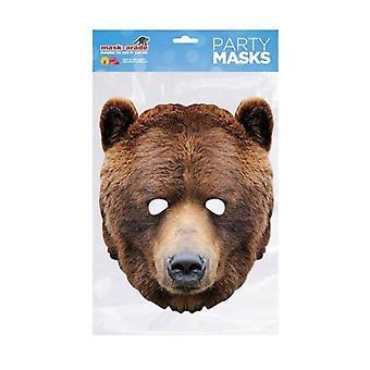 Niedźwiedź Maska zwierzęca