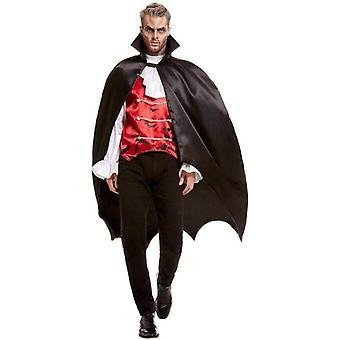 Vampire Bat Cape Adult Black