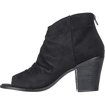 Zigi Soho Womens Indera Fabric Peep Toe Ankle Fashion Boots