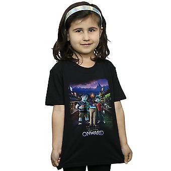Disney Mädchen Vorwärts Charakter Poster T-Shirt