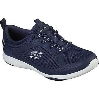Skechers النساء Lolow زلة خفيفة الوزن على المدربين الرياضيين