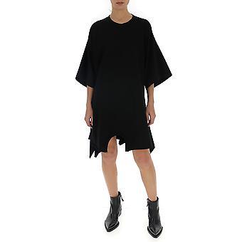 Chloé Chc20sht67484291 Women's Black Silk Dress