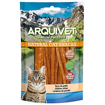 Arquivet Natural Snack for Cats Chicken Strips (Cats , Treats , Eco Products)