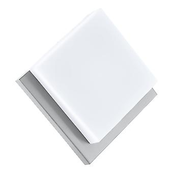 Eglo Infesto 1 - LED Outdoor Flush Ceiling / Wall Light Stainless Steel, Silver IP44 - EG94877