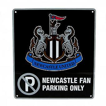 Newcastle United FC offiziell keine Parkplatz-Schild