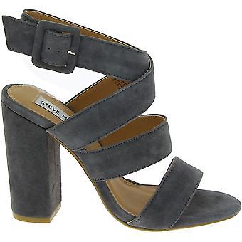 Steve Madden 910002360s01000312001 Donne's Grigio finto pelle sandali