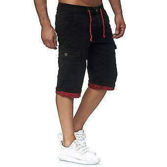 Men's Jeans Shorts Summer Bermuda Jaylvis Cargo Bags Leg Cover Summer Casual