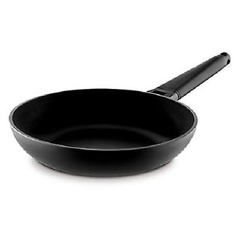 Castey Frying Pan With Detachable Handle Black Classic Yellow