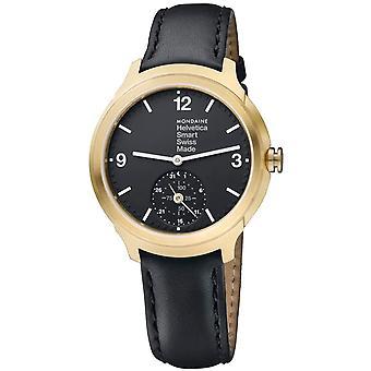 Mondaine Helvetica No1 - MH1.B2S20.LB - SmartWatch Heren Horloge