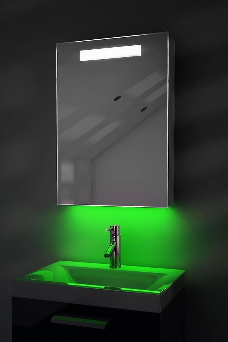 Colour Changing RGB Cabinet With Bluetooth, Shaver & Sensor k260rgbaud