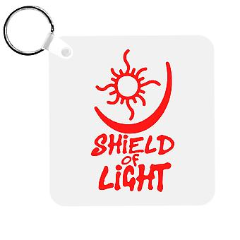 Bright Shield Of Light Keyring