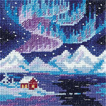 Klart Cross Stitch Kit - Polar Light