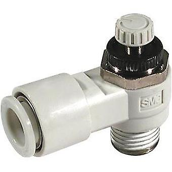 SMC As1301F-M5-04 Flow Regulator, M5X0.8 Male Inlet X M5X0.8 Male Outlet X 4Mm