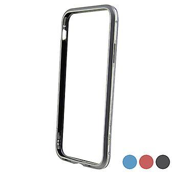 Mobiele cover Iphone X/xs KSIX Bumper Aluminium/Zwart/Blauw