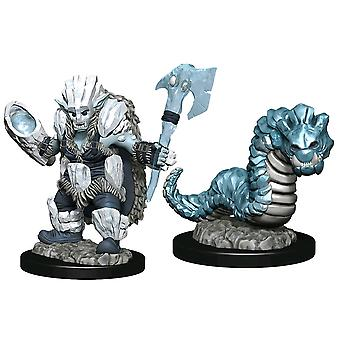 Wardlings Ice Orc & Ice Worm Pre-Painted Mini