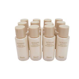 Sensai Silk Emulsion Moisturizer Travel Set, 0.23 Oz x 12
