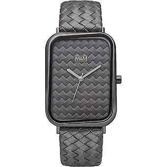 M-amp;M Allemagne M11947-888 Square line Ladies Watch
