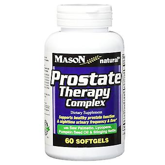Mason natural prostate therapy complex, softgels, 60 ea