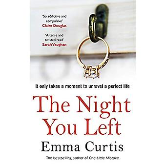 The Night You Left - The tense and shocking thriller that readers can'