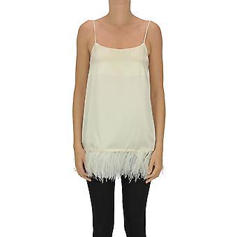 Semi-couture Ezgl426015 Women's Nude Acetate Top