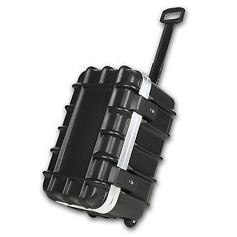 bwh Resväska T-Box Transportväska 56 cm 2 rullar, svart