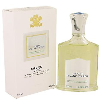 Virgin Island Water Eau De Parfum Spray (Unisex) Av Creed 3,4 oz Eau De Parfum Spray