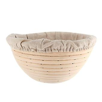 Bread Banneton Brotform Rising Rattan Basket Liner Oval Fruit Tray, Modello - A2