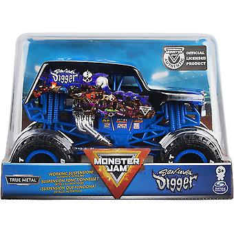 Monster Jam 01:24 Die-Cast Vehicul - Son-Uva Digger