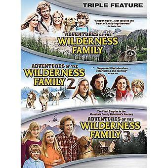 Adventures of the Wilderness Family Triple Feature [DVD] USA import