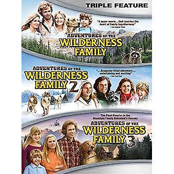 Importación de aventuras de los E.e.u.u. del desierto familia Triple función [DVD]