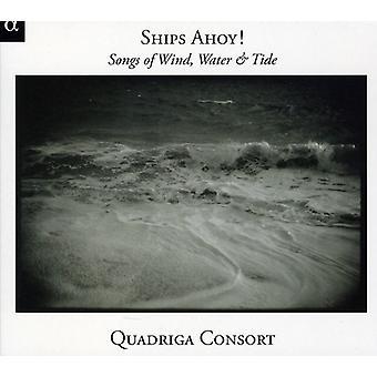 Quadriga consorte - navi Ahoy! Importare brani di vento, acqua & marea [CD] Stati Uniti d'America