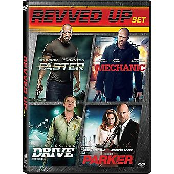 Drive / Parker / Faster / Mechanic [DVD] USA import